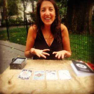 tarot reading in park
